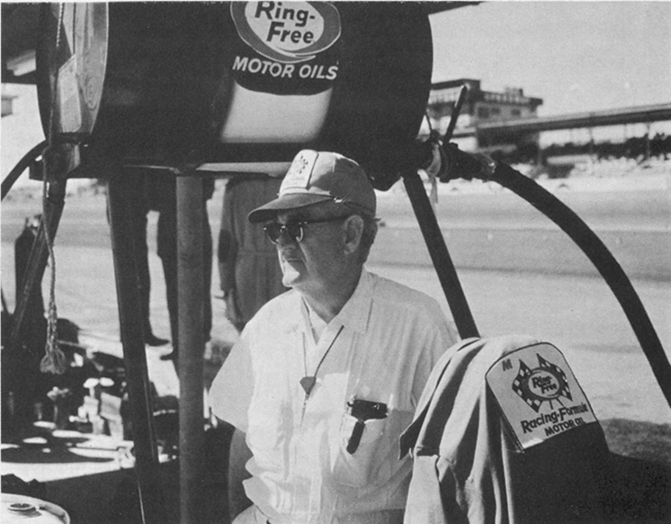 Jim McGee Ring-Free Oil Racing Team Crew Chief